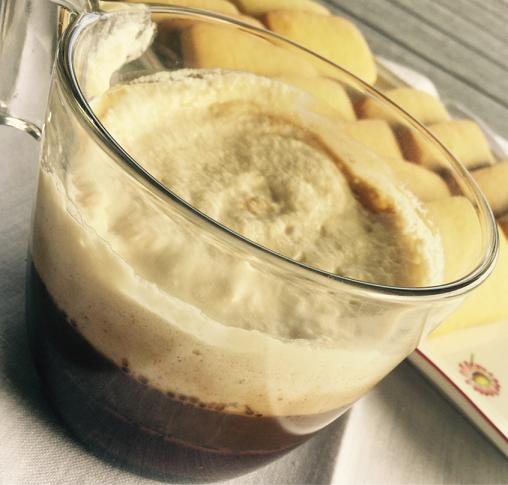 Cioccolato, caffè e crema caffè
