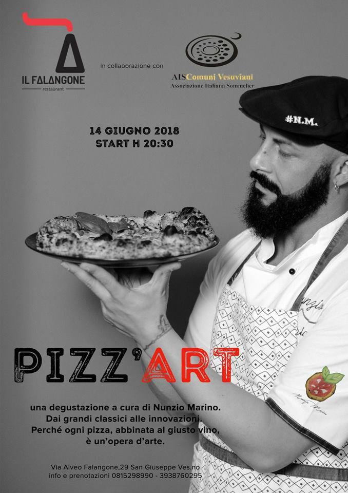 """""""Pizz'Art…perché ogni pizza è un' opera d'arte."""""""