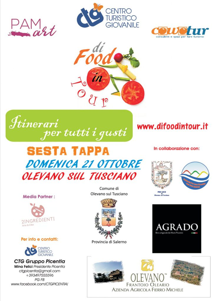 Di Food in Tour, Itinerari per tutti i Gusti