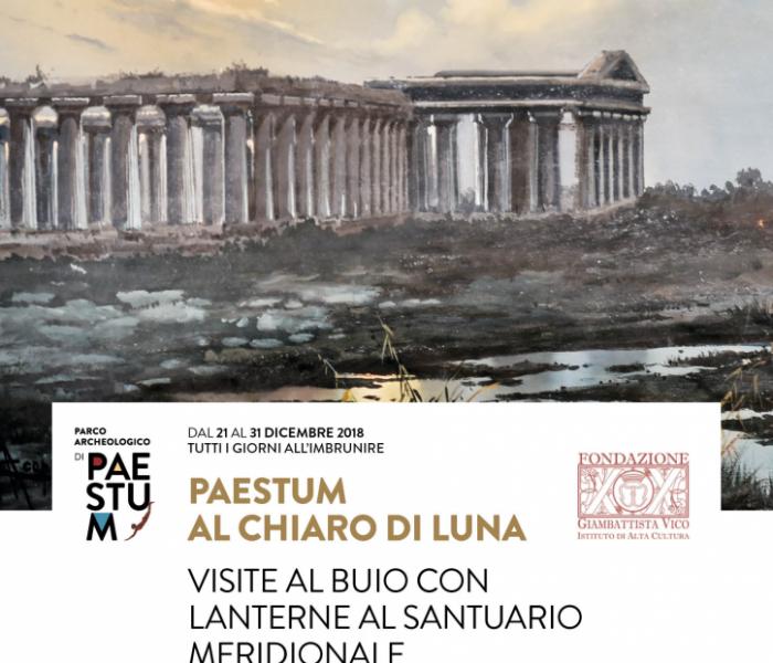 Salerno si illumina, Paestum spegne le luci