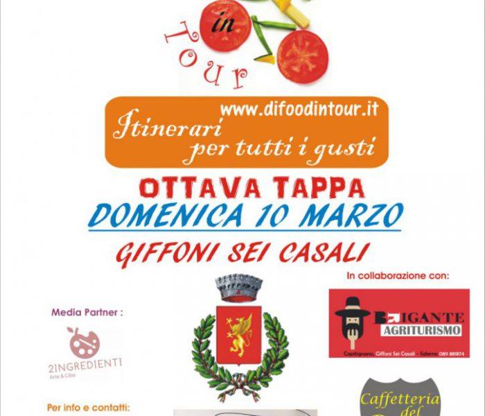8^ tappa Di Food in Tour