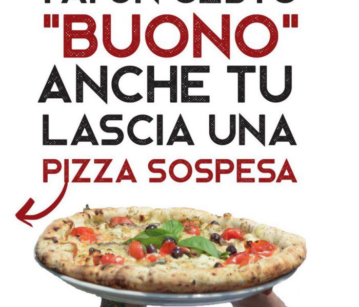 """""""Pizza sospesa"""" da Sorbillo"""