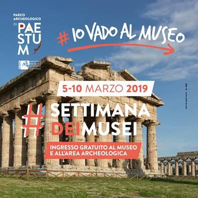 Paestum e la settimana dei Musei
