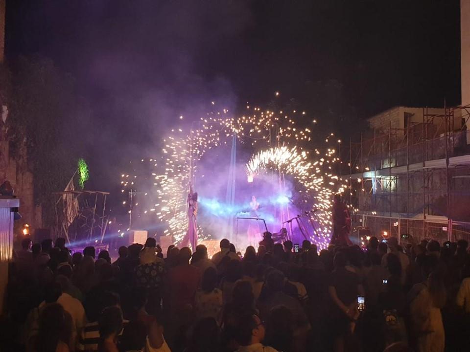 Folla al Festival del Panuozzo di Gragnano