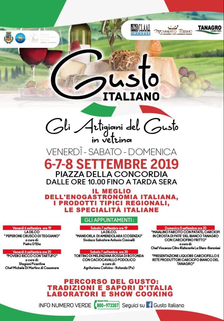 Gusto Italiano seconda edizione a Salerno
